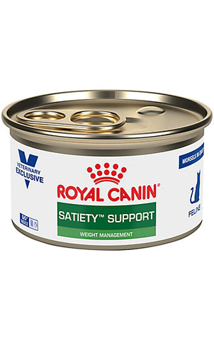 Royal Canin Veterinary Diet Feline Satiety Support Weight Management Morsels in Gravy Wet Cat Food