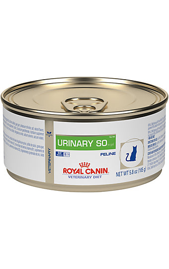 Royal Canin Veterinary Diet Feline Urinary SO in Gel Wet Cat Food at NJPetSupply.com