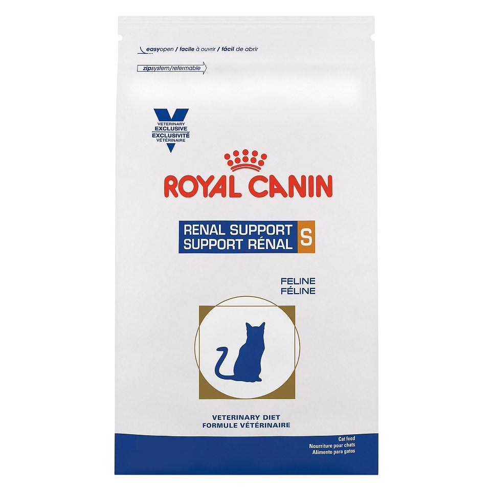 Royal Canin Veterinary Diet Feline Renal Support S Dry Cat Food at NJPetSupply.com