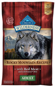 Blue Buffalo Wilderness Rocky Mountain Recipe With Red Meat Dry Dog Food at NJPetSupply.com