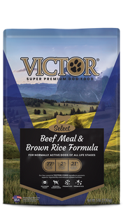 Victor Select Beef Meal & Brown Rice Formula Dry Dog Food at NJPetSupply.com