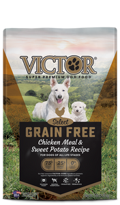 Victor Select Grain Free Chicken Meal & Sweet Potato Recipe Dry Dog Food at NJPetSupply.com