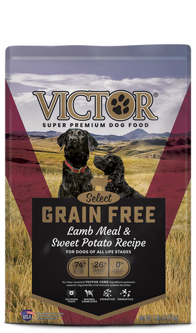 Victor Select Grain Free Lamb Meal & Sweet Potato Recipe Dry Dog Food at NJPetSupply.com