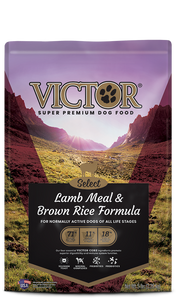 Victor Select Lamb Meal & Brown Rice Formula Dry Dog Food at NJPetSupply.com