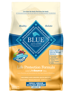Blue Buffalo Dog Small Breed Healthy Weight Chicken Dry Dog Food - NJ Pet Supply