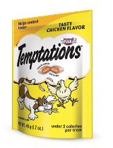 Whiskas Temptations Treats for Cats, Tasty Chicken Flavor, 16-oz at NJPetSupply.com