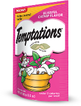 Whiskas Temptations Treats for Cats, Blissful Catnip Flavor, 16-oz at NJPetSupply.com