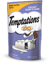 Whiskas Temptations Treats for Cats, Creamy Dairy Flavor, 16-oz at NJPetSupply.com
