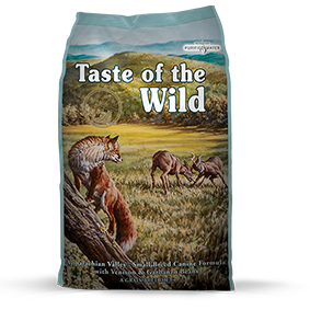 Taste of the Wild Appalachian Valley Small Breed Recipe with Venison and Garbanzo Beans Dry Dog Food at NJPetSupply.com