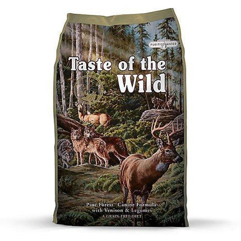 Taste of the Wild Pine Forest Recipe with Venison and Legumes Dry Dog Food