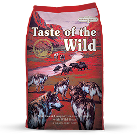 Taste of the Wild Southwest Canyon Recipe with Wild Boar Dry Dog Food at NJPetSupply.com