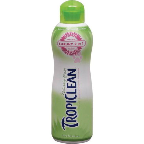 TropiClean Papaya Plus Shampoo