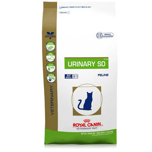 Royal Canin Veterinary Diet Feline Urinary SO Dry Cat Food at NJPetSupply.com