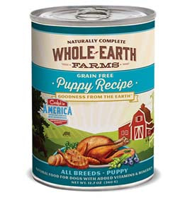 Whole Earth Farms Grain Free Puppy Recipe Canned Dog Food