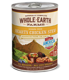 Whole Earth Farms Grain Free Hearty Chicken Stew Canned Wet Dog Food at NJPetSupply.com