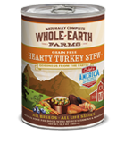 Whole Earth Farms Grain Free Hearty Turkey Stew Canned Wet Dog Food at NJPetSupply.com