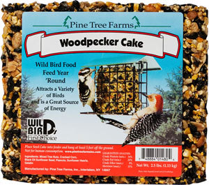 Pine Tree Farms Woodpecker Cake