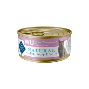 BLUE Natural Veterinary Diet WU Weight Management + Urinary Care Wet Cat Food - NJ Pet Supply