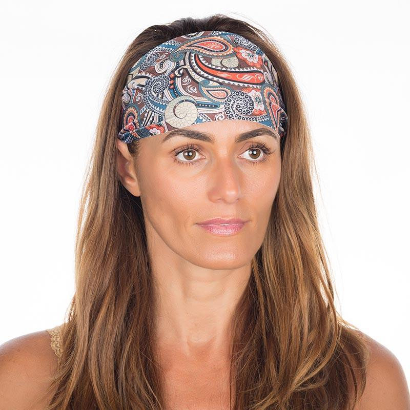 Earthy Paisley Headband