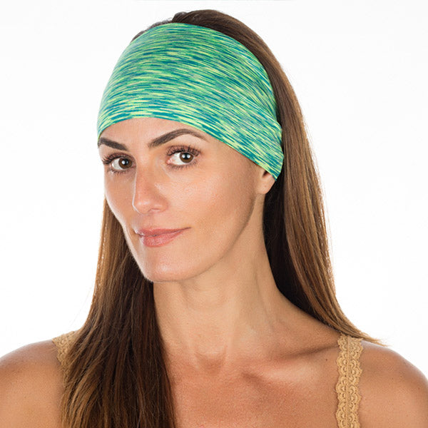 Green & Yellow High Performance Non-Slip Headband