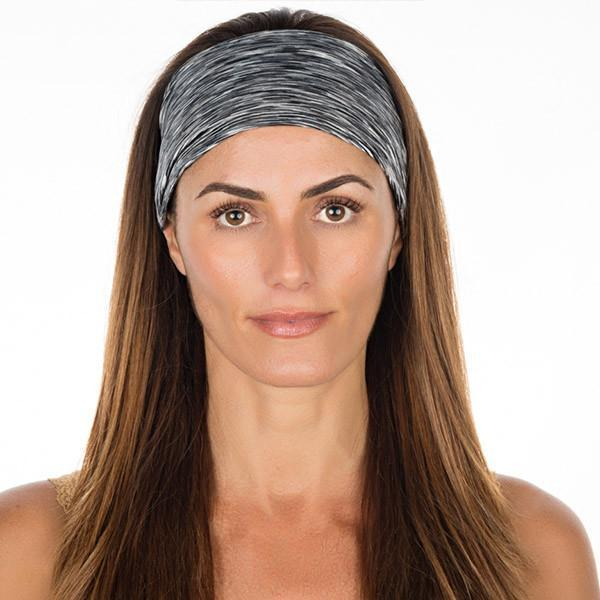 Black & White High Performance Non-Slip Headband