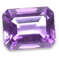 6X8MM OCTAGON  AMETHYST  LOOSE GEMSTONE