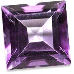 10MM SQUARE AMETHYST   LOOSE GEMSTONE