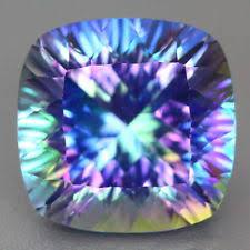 10MM CUSHION BLUE MYSTIC TOPAZ LOOSE GEMSTONE