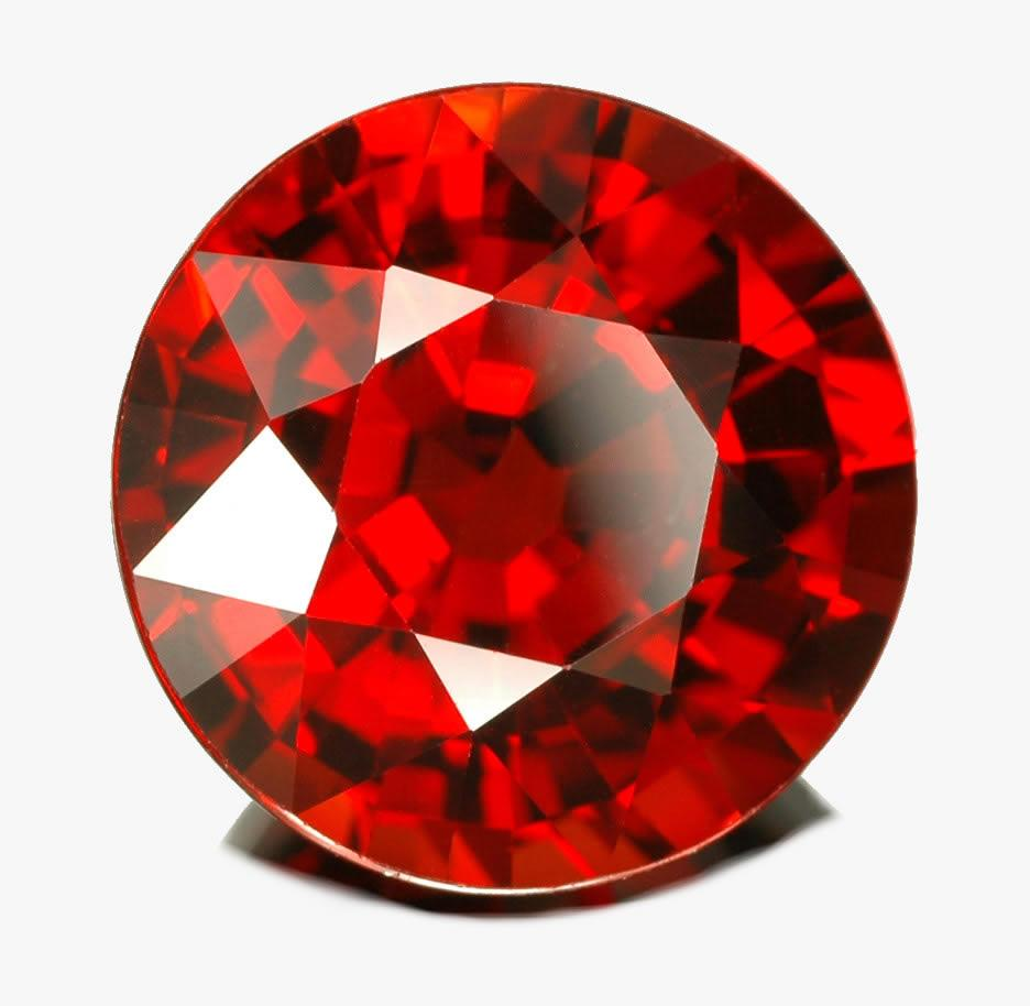 3MM ROUND CREATED GARNET   LOOSE GEMSTONE