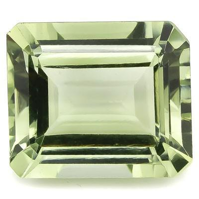 PRICELESS 4.45 CARAT TW (1 PCS) GREEN AMETHYST LIGHT GREEN TEA GEMSTONE