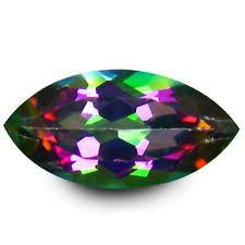2.5X5MM MARQUISE  GREEN  MYSTIC TOPAZ LOOSE GEMSTONE