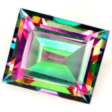10x12MM OCTAGON GREEN MYSTIC TOPAZ LOOSE GEMSTONE