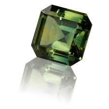 3MM  GREEN SAPPHIRE   SQUARE  LOOSE GEMSTONE