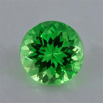 3MM ROUND GREEN GARNET  LOOSE GEMSTONE
