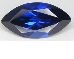 3X6MM MARQUISE LAB SAPPHIRE    LOOSE GEMSTONE