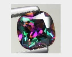 10MM CUSHION MYSTIC TOPAZ LOOSE GEMSTONE