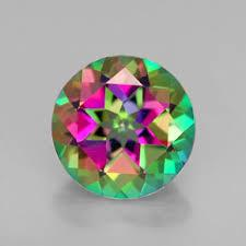 12MM  ROUND MYSTIC TOPAZ  LOOSE GEMSTONE