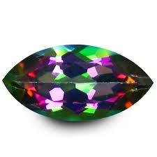 3X6MM MARQUISE MYSTIC TOPAZ   LOOSE GEMSTONE
