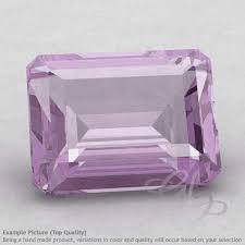 8X10MM OCTAGON  PINK AMETHYST    LOOSE GEMSTONE