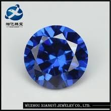 10MM  ROUND LAB TANZANITE  LOOSE GEMSTONE