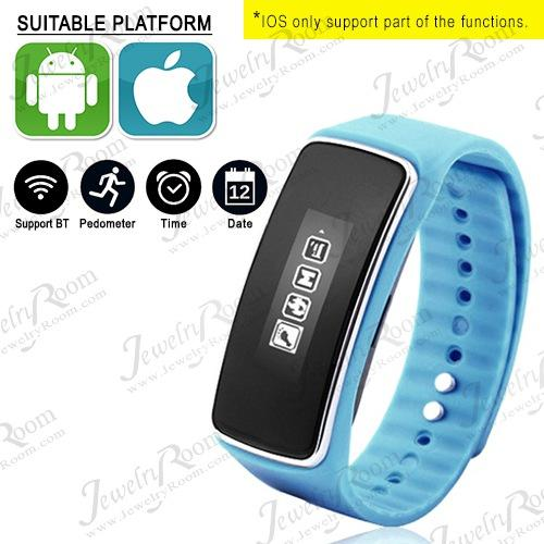 STUNNING ! BLUETOOTH 4.0 SMART WATCH SLEEP MONITORING DISTANCE MEASUREMENT FOR SPORTS