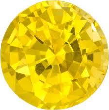 2.5MM ROUND YELLOW SAPPHIRE   LOOSE GEMSTONE