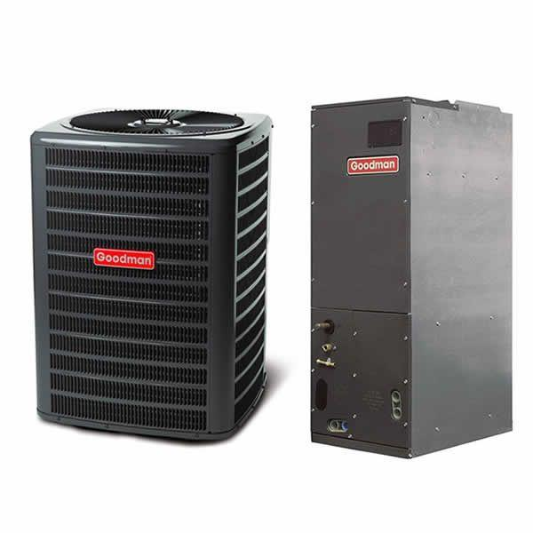Goodman 2.5 Ton 14 SEER Heat Pump Air Conditioner System