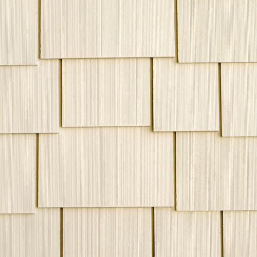 "Allura™ 1/4"" x 16"" x 48"" Fiber Cement Shake Siding Staggered Edge"