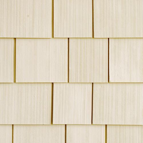 "Allura™ 1/4"" x 16"" x 48"" Fiber Cement Shake Siding Straight Edge"