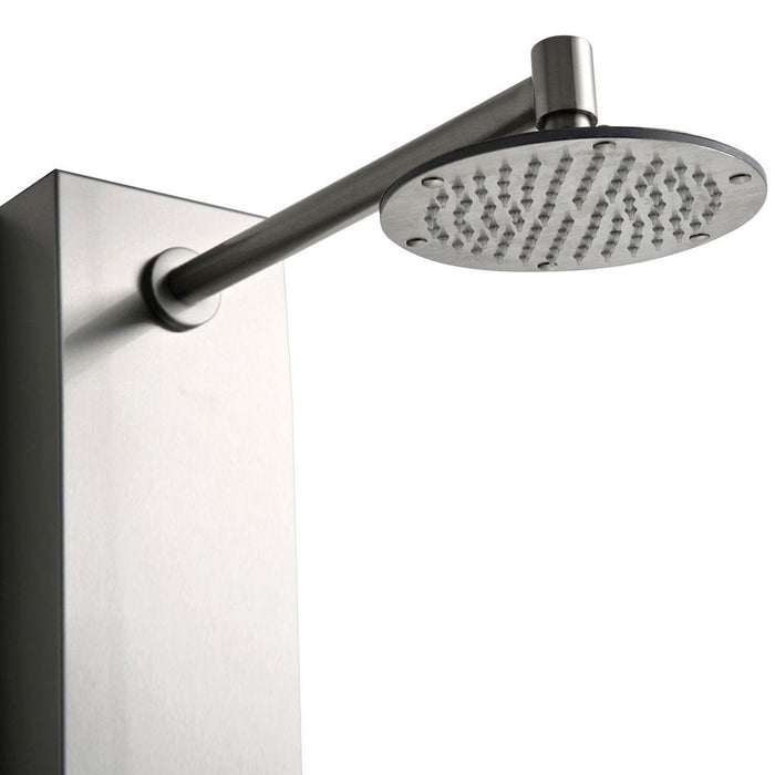 LessCare Modern Shower Panel System With Massage Jets - CALL FOR QUOTE!