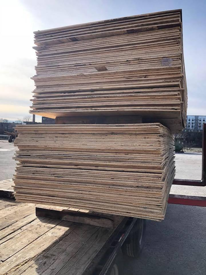 Plywood Bundle (4x8 -1/2 inch) - 60 Sheets (LOCAL PICKUP ONLY - NO SHIPPING)
