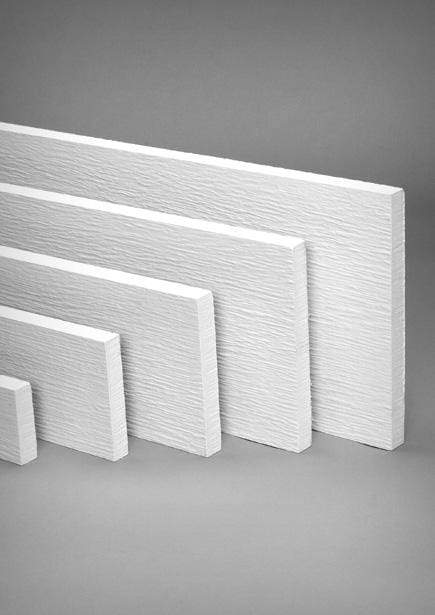 HardieTrim® Boards 5/4 Fiber Cement Rustic Primed Trim Board