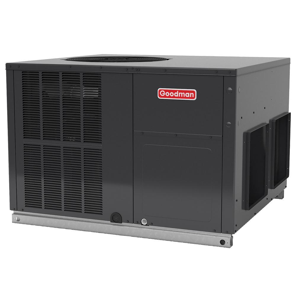 Goodman GPH Series Packaged Heat Pump - 2-1/2 Ton - 14 SEER - Horizontal