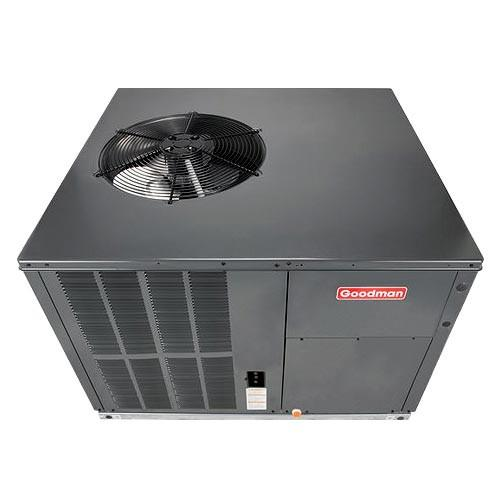 Goodman Gph Series Packaged Heat Pump 3 1 2 Ton 14 Seer Multi Po Music City Building Supply